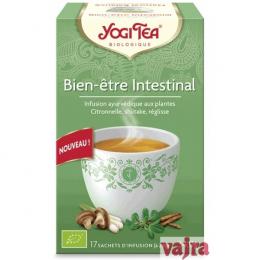Infusion ayurvédique aux plantes Bien-être intestinal Yogi Tea