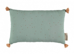 Coussin Sublim 20x35  toffee sweet dots eden green - Nobodinoz