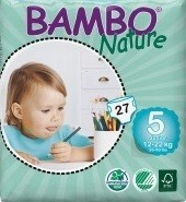 Couches jetables Bambo Nature - Junior
