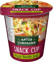 Soupe aux nouilles Veggie BIO Nature compagnie