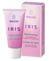 Crème nuit hydratante à l'Iris Weleda