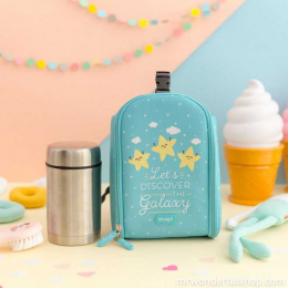 Sac à dos isotherme avec thermos pour aliments - LET'S DISCOVER THE GALAXY - Mr Wonderful