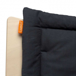 Coussin de chaise Leander Noir
