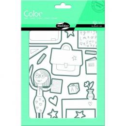 Stickers - Color - Ecole - Maildor